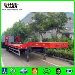 China Made 45 Tons Low Bed Trailer pictures & photos