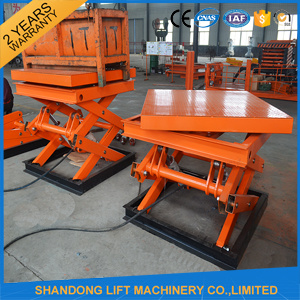 Heavy Equipment Scissor Lift Used pictures & photos