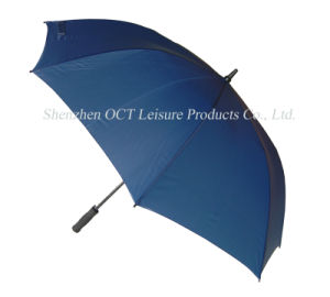 Navy Blue Golf Umbrella (OCT-G10FPN) pictures & photos