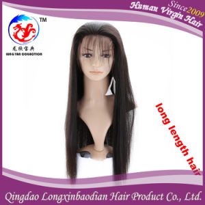 Front Lace Wig European Remy Virgin Human Hair Wig (WSTB-AH009)