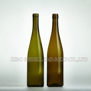 Bvs, Cork Top Antique Green 750ml Burgundy Hoch Bottle (03 -Hoch wine bottle) pictures & photos