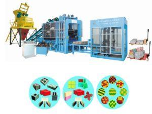 Automatic Cement Solid Brick Hollow Block Paving Brick Machine (QTY6-15) pictures & photos