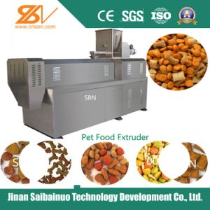 Fully Automatic Dry Pet Dog Food Making Plant pictures & photos