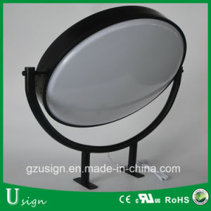Round Revolving Acrylic Light Box (vacuum form sign) pictures & photos