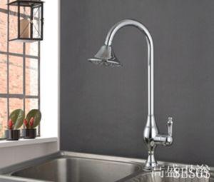 Design Kitchen Faucet Single Lever Pull Faucet (GS0259) pictures & photos