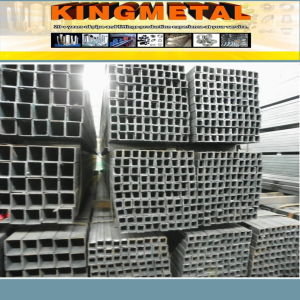 Ms Hollow Section Square Steel Pipe/Tube 40X40 100X100 pictures & photos