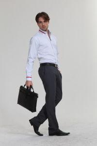 Men Business Suit Long Sleeve pictures & photos