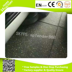 Fitness Gym Crossfit Rubber Flooring Mat pictures & photos