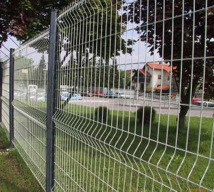 PVC Coated Triangle Bending Fence Panel, Garden Fence, Folding Fence pictures & photos