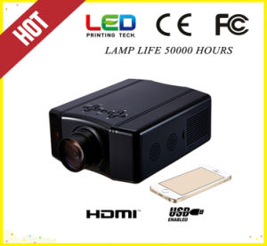 1080P HD Mini Portable Projector with TV (SV-856) pictures & photos
