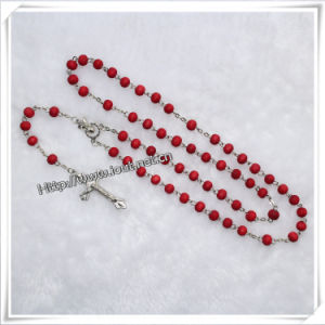 Wood Beads Rosary / Plastic Rosary / Rose Scent Cord Rosary (IO-cr016) pictures & photos