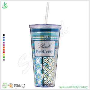 22oz Promotional Paper Insert Straw Tumbler Factory Direct (TB-A1-4) pictures & photos