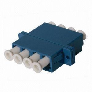LC Fiber-Optic Adapter with 4 Port pictures & photos