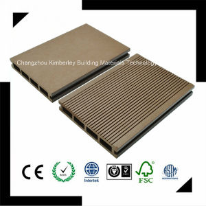 145*25 High Level Plasticity PE Waterproof Laminate Wood Plastic Composite Decking pictures & photos