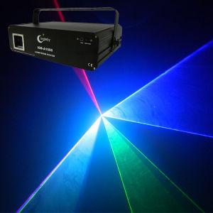 1W RGB Full Colors Animation DJ Light Party Light Laser Light (IGB-A1000RGB)