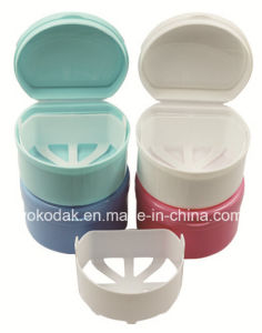 Plastic Denture Box Dental Disposable pictures & photos