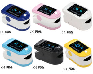 Finger Pulse Oximeter Oxygen Saturation Monitor CE&FDA Certified (CMS 50D) pictures & photos