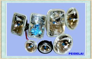 Various Auto Semi Sealed Beam Headlights pictures & photos