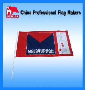 No MOQ of Custom Design Printed Hand Flag