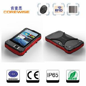 Rugged 4G Lte Android Tablet PC, RFID Smart Card Reader, Fingerprint Reader, 1d/2D Barcode Scanner pictures & photos
