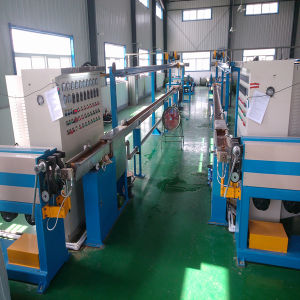 High Speed and Energy Saving Single Screw Communication Wire Machine pictures & photos