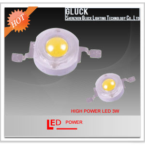 CE & RoHS Approved 3W High Power LED