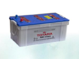 12V200ah Good Quality Dry Charged Car Battery JIS pictures & photos