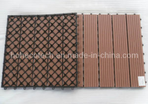 400X400mm Balcony Interlocking WPC Decking Tiles pictures & photos