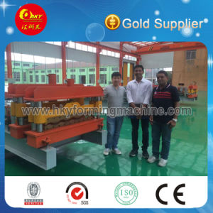 Metal Steel Glazed Tiles Roll Forming Machine pictures & photos