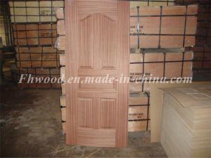 Decorative Natural Wood Veneered Door Skin pictures & photos