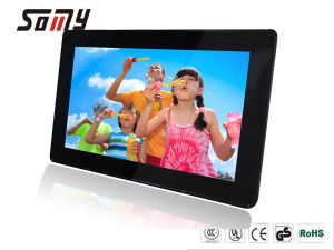 9.7 Inch ABS Digital Picture Frame with 1024*768 Resolution P97n3