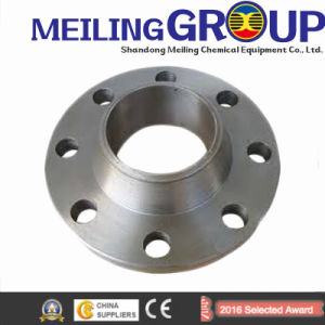 ANSI DIN Stainless Steel Forged Casting Slip-on Pipe Flange pictures & photos