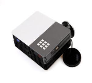 Ultra Portable 600 Lumen Full HD Home Theater Digital LCD 3D LED Projector with USB HDMI VAG Va Input