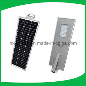 5W-120W All in One LED Integrated Solar Street Light with PIR Motion Sensor Ce RoHS ISO IP68 Approved pictures & photos