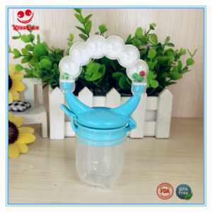 New Design Baby Food Dispenser with Teething Ring pictures & photos