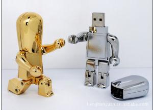 Metal Robot USB Disk