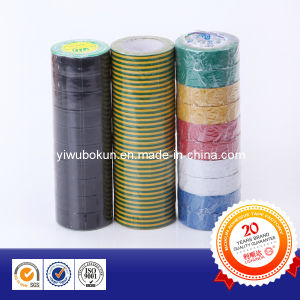 New Product PVC Insulation Tape, Fire Resistance Electrical Tape, PVC Electrical Tape (BK-1-217) pictures & photos