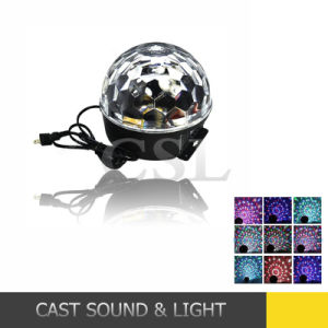 Disco Home Party Crystal LED Magic Effect DMX LED Ball pictures & photos