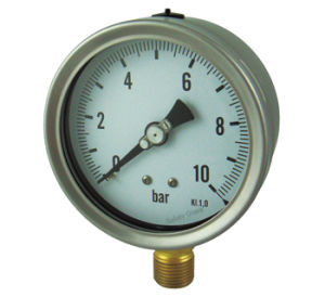Stainless Steel Cast Pressure Gauge (B-0062)