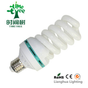 Spiral 28W T4 8000h Triband Energy Saving Lamp (CFLFST48KH) pictures & photos