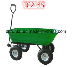 China Supplier Heavy Duty Garden Trailer Tool Cart pictures & photos