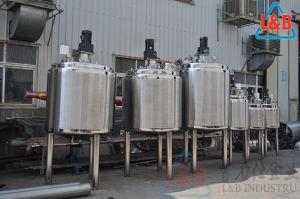 Stainless Steel Steam Heating Mixing Tank pictures & photos