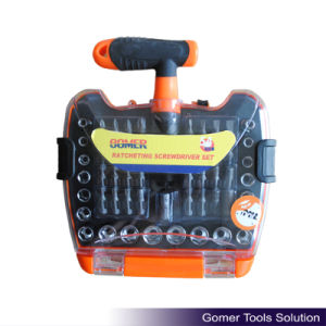 54PCS Ratchet Screwdriver for Multifunctional Use (T02362) pictures & photos