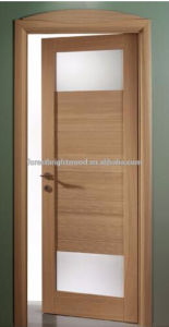 Fancy Oak Veneer Modern Interior Doors Design pictures & photos