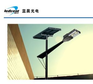 80W Solar LED Street Light with CE RoHS FCC Certification pictures & photos