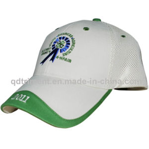 Contrast Binding Embroidery Cotton Twill Golf Baseball Cap (TMB8515-1) pictures & photos
