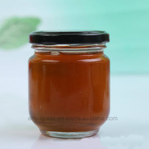 195ml 240ml Round Pickle Glass Jars, Glass Bottles for Honey, Food, Bee Honey pictures & photos