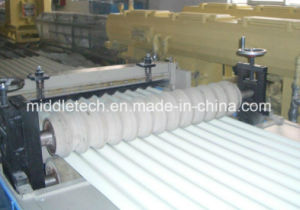 Plastic PVC Wave/Glazed Roof Tile Roller Forming Machine pictures & photos