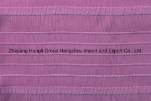 100% Polyester 100d Chiffon Fabric for Women′s Garment pictures & photos