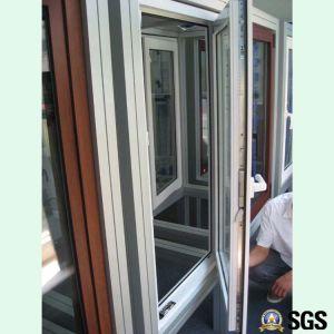 Powder Coated Aluminium Profile Inward Tilt & Turn Window, Aluminium Window, Window K04005 pictures & photos